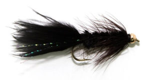 BH black woolly bugger